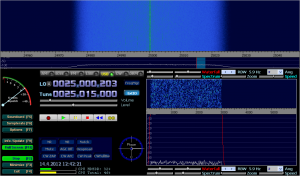 SDRX01B without an antenna connected