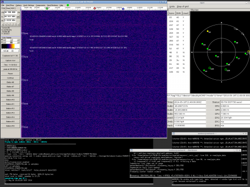 An example of running RMDS02B station with detection based on SpectrumLab software